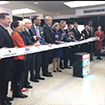 Cathay to Dulles Ribbon Cutting