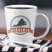 American Evolution branded mug